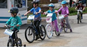 Child Safety-Free Bike Helmets